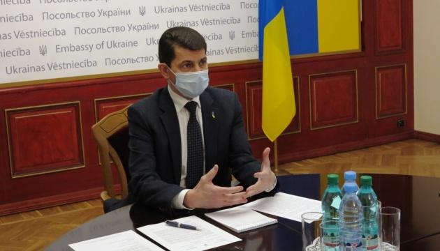 Посол України в Латвії закликав членів виключеного з СКУ Об'єднання залишити організацію