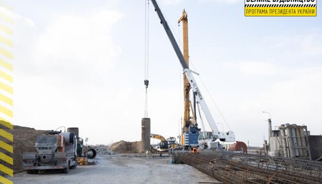 В Днипре на объездной дороге начали строить двухуровневую развязку