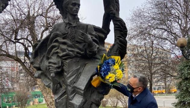 Шевченка вшанували у Болгарії