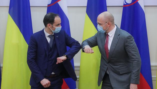 Шмигаль сподівається на посилення співпраці зі Словенією