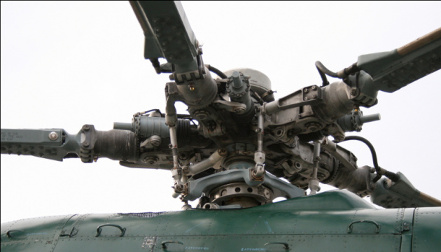 Российский вертолет нарушил украинское воздушное пространство