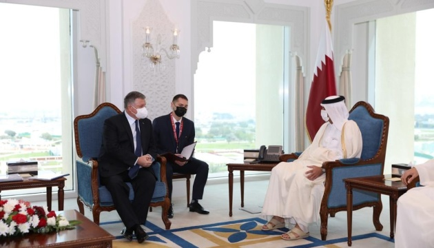 Avakov, Qatari PM discuss preparation for signing agreements during Zelensky's visit in April