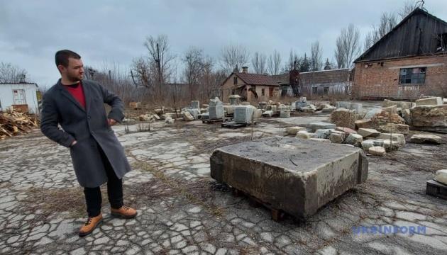 У Запоріжжі знайшли постамент меморіалу, встановлений менонітами у 1890 році