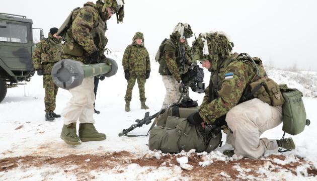 В Естонії вперше протестували протитанковий ракетний комплекс Spike