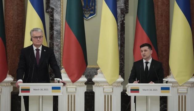 Die Ukraine und Litauen werden positive Dynamik des Warenumsatzes wiederherstellen - Selenskyj