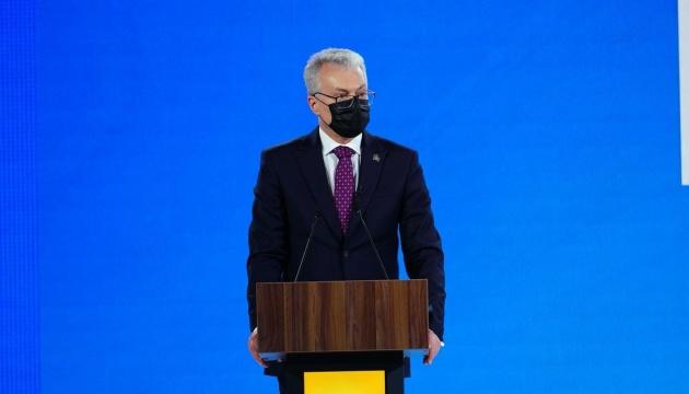 Gitanas Nausėda invite à renforcer les liens économiques bilatéraux entre la Lituanie et l'Ukraine