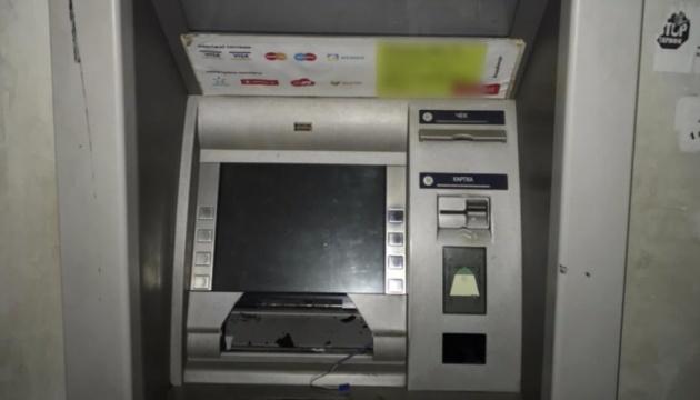 На Харьковщине взорвали банкомат и украли деньги