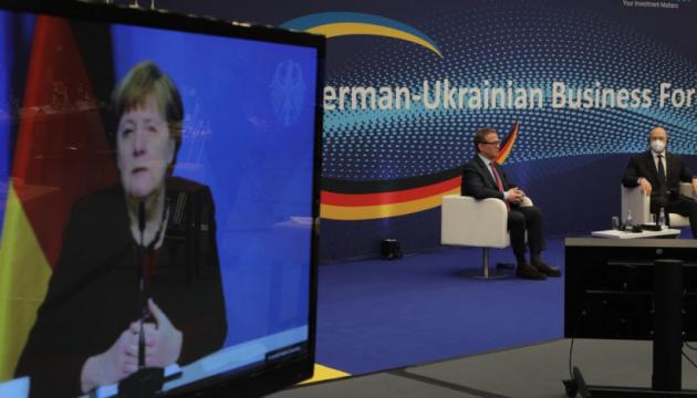Współpraca między Ukrainą a Niemcami to nie tylko gospodarka – Merkel