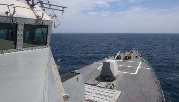 До Чорного моря прямує американський ракетний есмінець