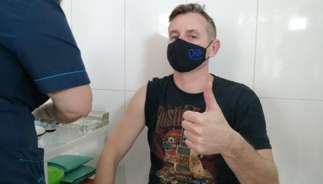 Сергій Жадан вакцинувався від коронавірусу