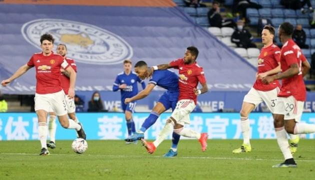 «Лестер» переміг «МЮ» і вийшов до півфіналу Кубка Англії з футболу