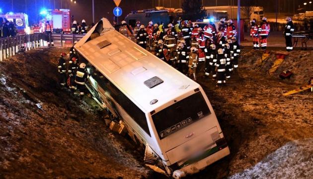ДТП у Польщі: водію українського автобуса загрожує до п'яти років тюрми
