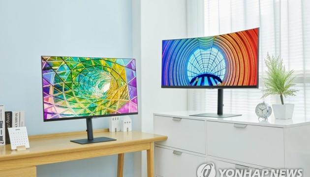 Samsung представив нову лінійку моніторів, які передають понад мільярд кольорів