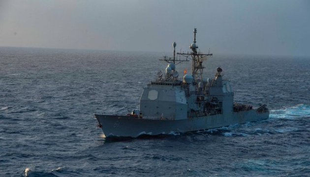 Американські ракетний крейсер «Монтерей» та есмінець «Томас Хаднер» зайшли у Чорне море