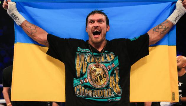 Гірн готовий влаштувати боксерський бій Усик - Джойс у Києві