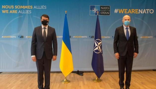 Ukraine expects to receive NATO's Membership Action Plan in near future – Razumkov
