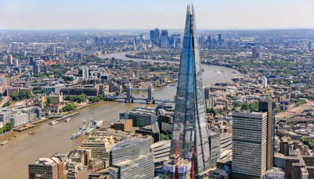 Лондонський архітектурний комплекс «The Shard» - найвища будівля у Великобританії