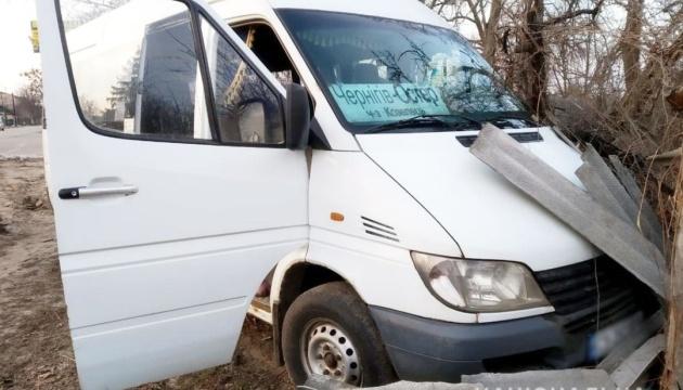 На Чернігівщині водій маршрутки помер за кермом під час руху