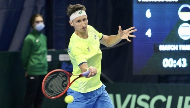 Стаховський легко переміг італійця на турнірі ATP в Лугано