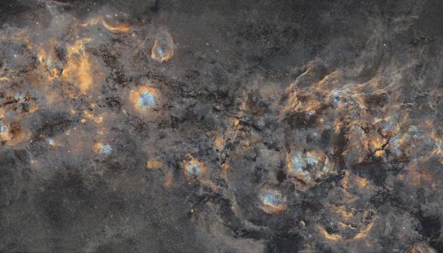 Понад 20 мільйонів зірок: створили найбільш детальний знімок Чумацького шляху
