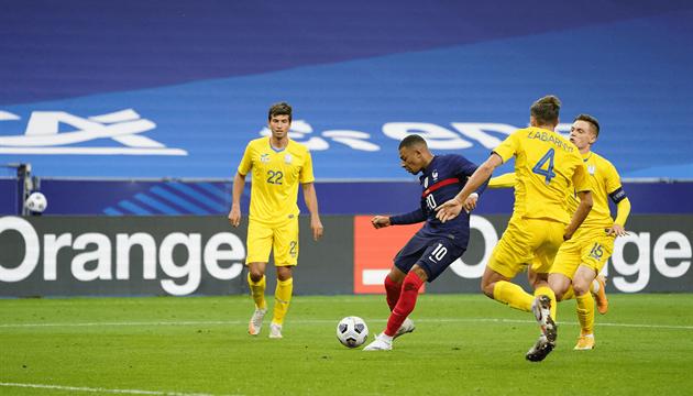 Збірна України зіграла внічию з Францією у кваліфікації чемпіонату світу з футболу