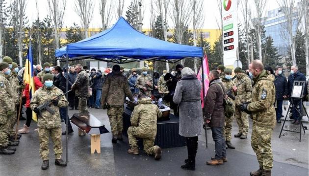 У Кропивницькому поховали бійця ООС, який загинув під Шумами