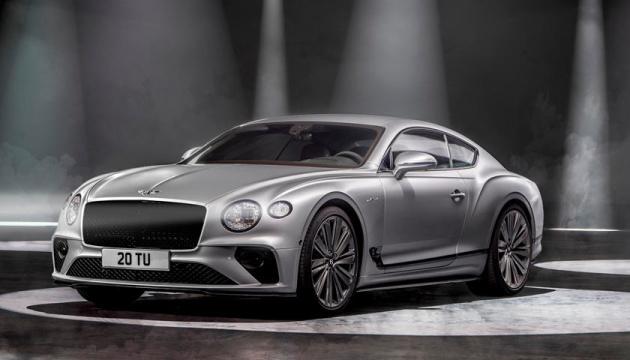 Bentley представив новий люксовий седан, що розганяється до 335 кілометрів