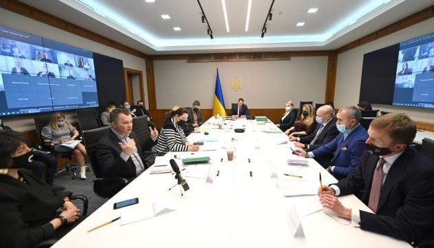 Yermak se reúne con representantes de asociaciones empresariales internacionales