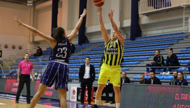 Баскетбол: «Фенербахче» Ягупової виграв усі матчі чемпіонату Туреччини