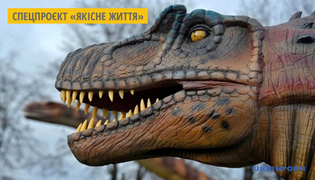 У парку Запоріжжя встановлюють 30 роботизованих динозаврів