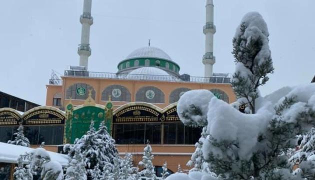 Туреччину засипало снігом
