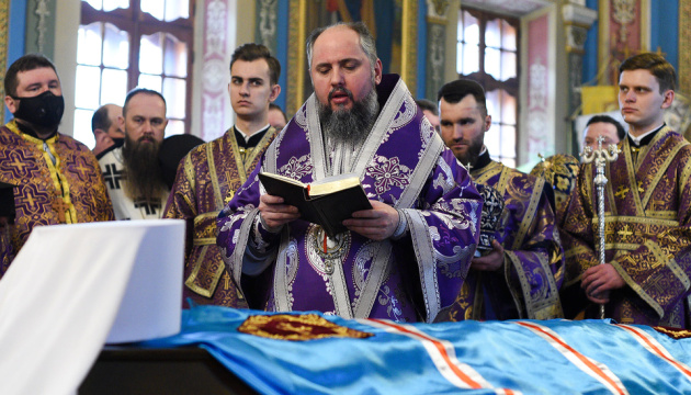 У Хмельницькому попрощалися з митрополитом Антонієм