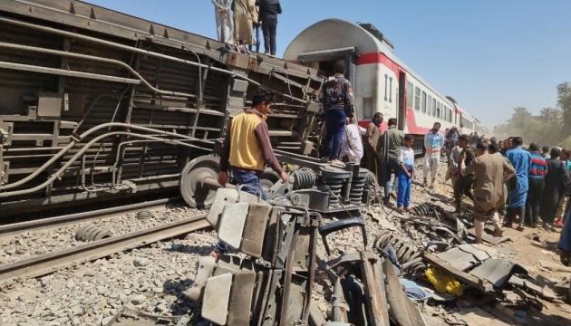 Назвали причину смертельної аварії поїздів у Єгипті