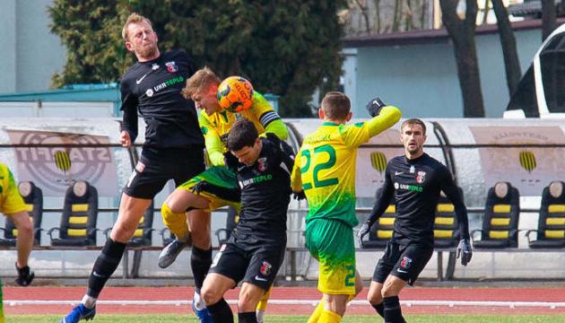 Перша ліга: «Верес» переміг у гостях, «Чорноморець» зіграв унічию вдома