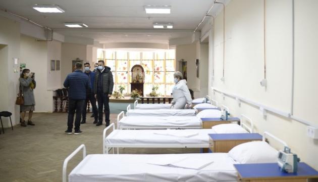 У Львівському медичному коледжі розгорнули 100 ліжок для хворих на COVID-19