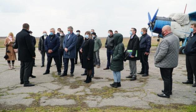 На Херсонщині відновлять Скадовський аеродром