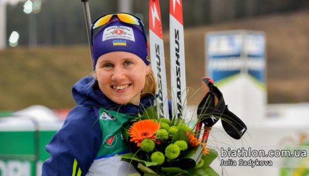 Анастасія Меркушина стала чемпіонкою України з біатлону у мас-старті