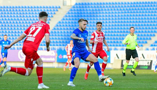 Кияни перемогли гостей з Бухареста у матчі динамівських команд