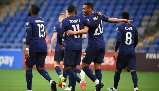 Сборная Казахстана проиграла Франции матч квалификации чемпионата мира по футболу