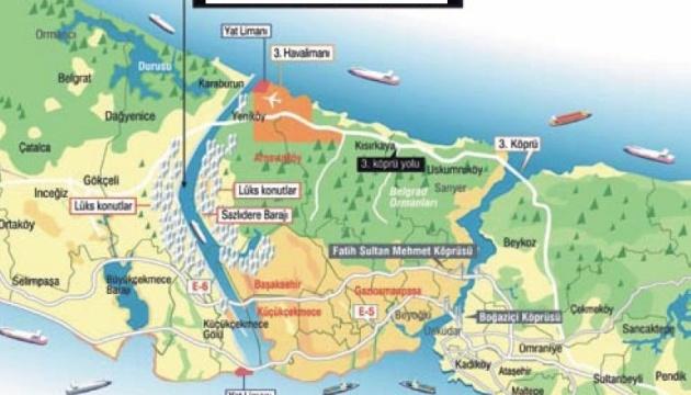 Власти Турции утвердили план строительства канала «Стамбул»