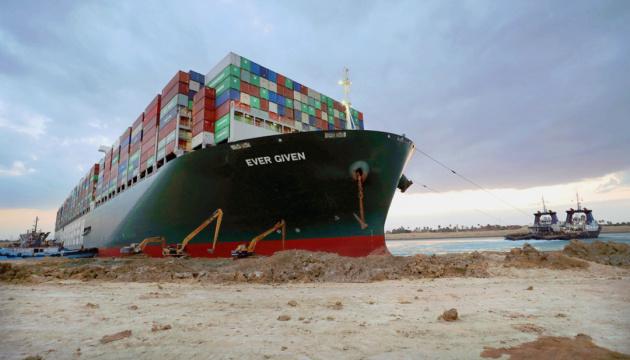 Египет арестовал судно, которое блокировало Суэцкий канал