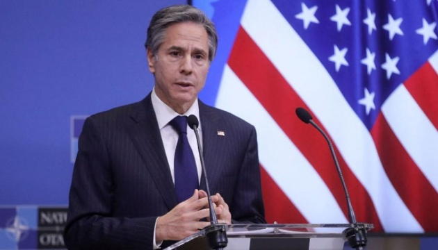 United States watching Russia's actions, ready to respond if it chooses to act aggressively – Blinken