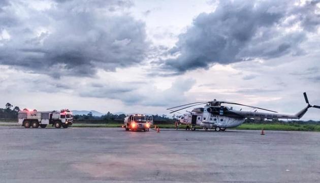 У Конго українські вертолітники евакуювали важкопоранених місцевих армійців