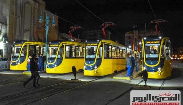 У єгипетській Александрії з'явилися українські трамваї