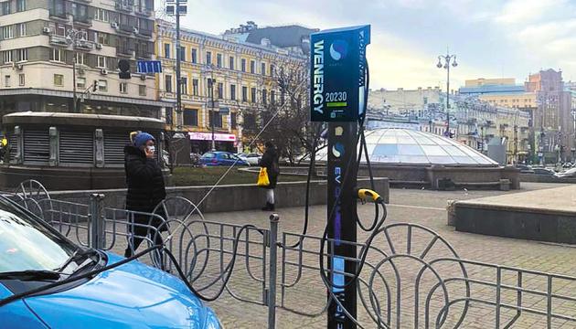 У Києві відкриють щонайменше 50 електрозаправок