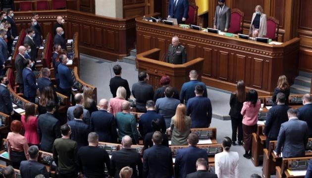 La Rada pide al mundo que aumente la presión sobre Rusia