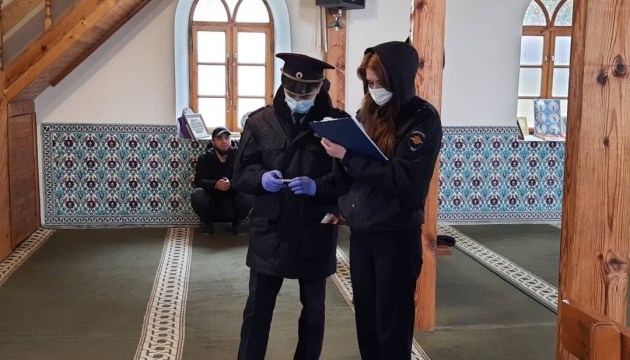Поліція і ФСБ прийшли до кримської мечеті «в рамках протидії екстремізму»
