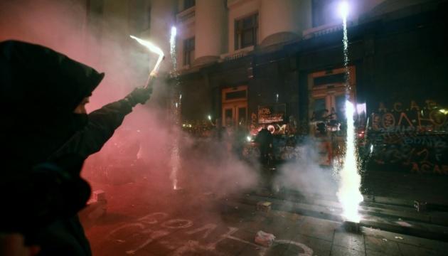 Рада осудила беспорядки в ОП во время акции в поддержку Стерненка