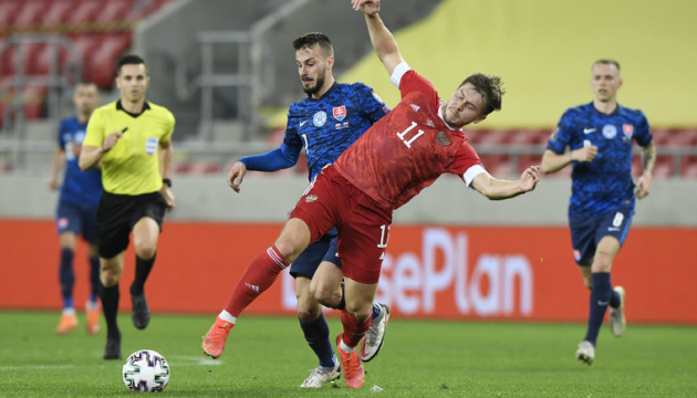 Кваліфікація ЧС-2022 з футболу: Росія програла словакам, Латвія відібрала очки у турків