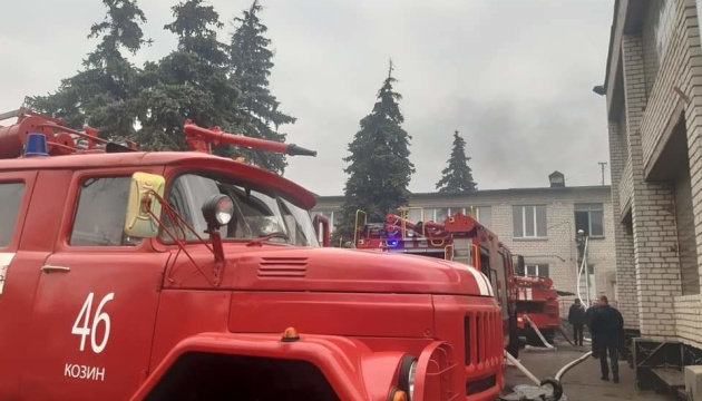 На Київщині сталася пожежа у дитячому садочку